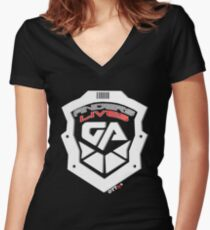 Anders Lives! Galactic Authority 2 - Dark Matter   OTTees Women's Fitted V-Neck T-Shirt