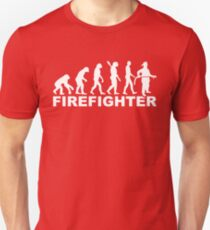 Evolution firefighter T-Shirt