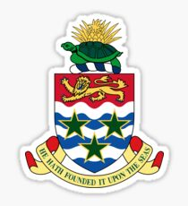 Cayman islands, coat of arms Sticker