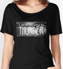 Thunder - Imagine Dragons lyrics Women's Relaxed Fit T-Shirt