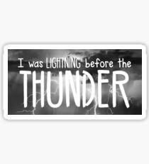 Thunder - Imagine Dragons lyrics Sticker