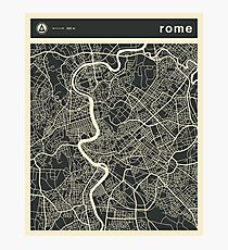 ROME MAP Photographic Print
