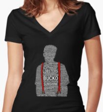 Peterson-isms Women's Fitted V-Neck T-Shirt