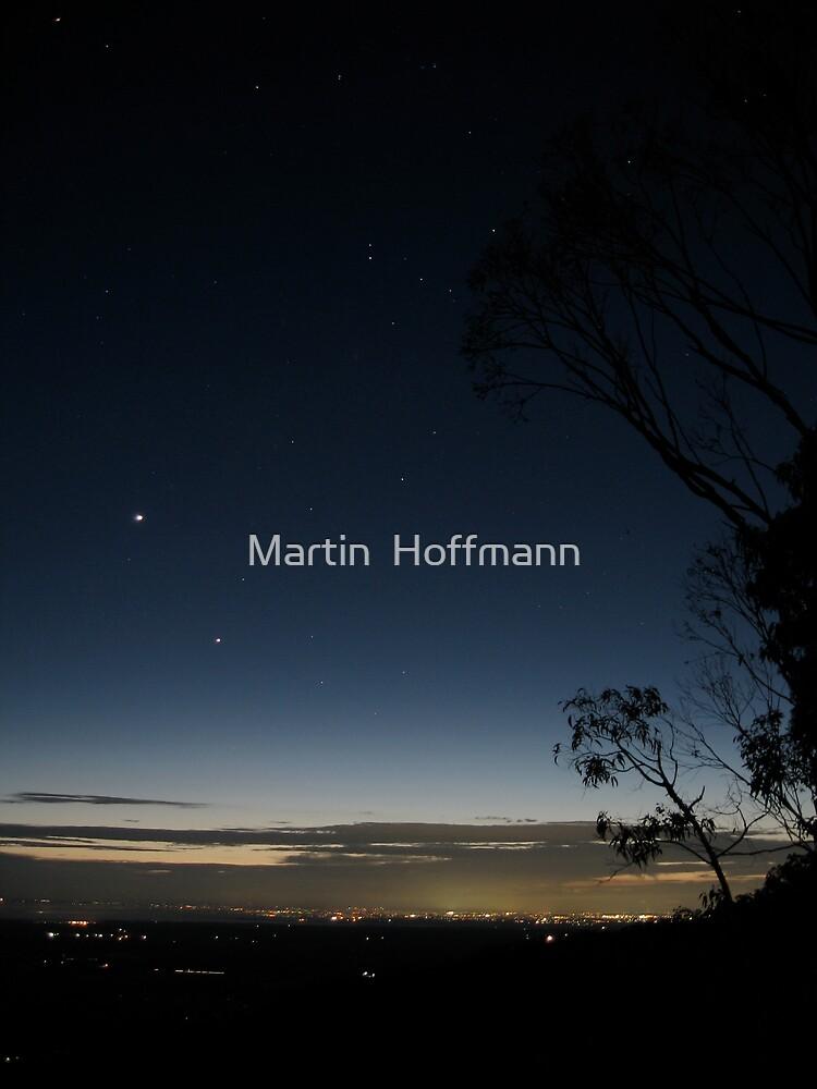 Sydney before sunrise by Martin  Hoffmann