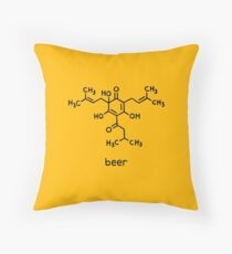 Beer Science T-Shirt Throw Pillow