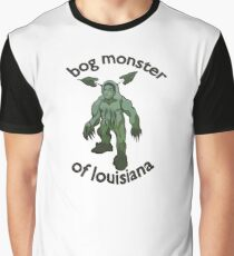 Bog Monster Of Louisiana (Smaller Size) Graphic T-Shirt