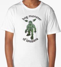 Bog Monster Of Louisiana (Smaller Size) Long T-Shirt
