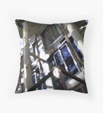 broken steel Throw Pillow