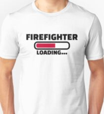 Firefighter loading T-Shirt