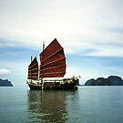 Boat Phuket Thailand by Caren della Cioppa