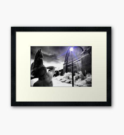 Blinded Framed Print