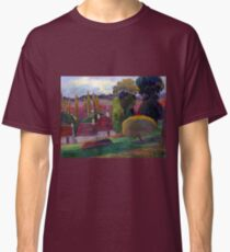 Paul Gauguin A Farm in Brittany Classic T-Shirt