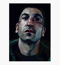 Frank Castle  Photographic Print