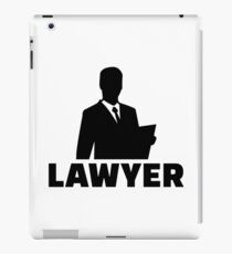 Lawyer iPad Case/Skin