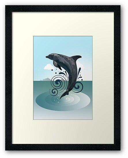Dolphin by Adam Santana