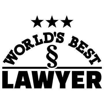 World's best lawyer by Designzz