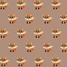 Fox Nerd  - Pattern by Adam Santana