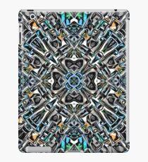 Symmetry of Silver iPad Case/Skin