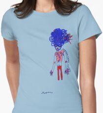 'Carmen Verandah' (Drag Racer Series) Women's Fitted T-Shirt