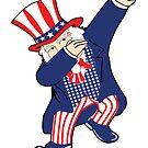 Dabbin Uncle Sam by EthosWear