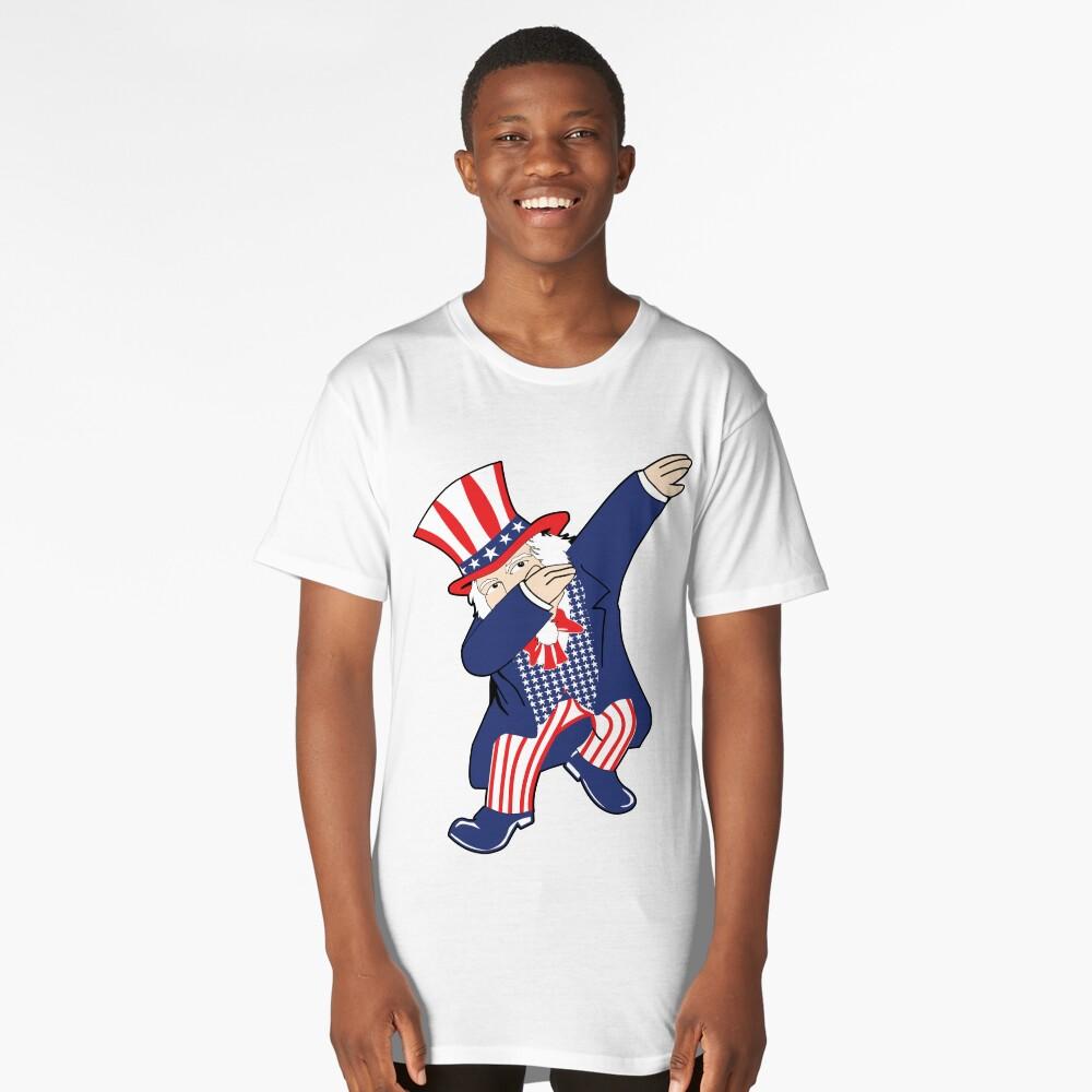 Dabbin Uncle Sam Long T-Shirt Front