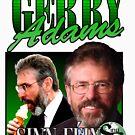 Gerry Adams Sinn Féin Vintage t-shirt by westonoconnor