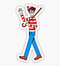 Where's Waldo, Where's Wally Sticker