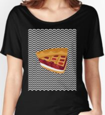 Twin Peaks Black Lodge Pie Women's Relaxed Fit T-Shirt