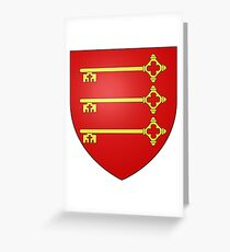 Coat of Arms of Avignon, France Greeting Card