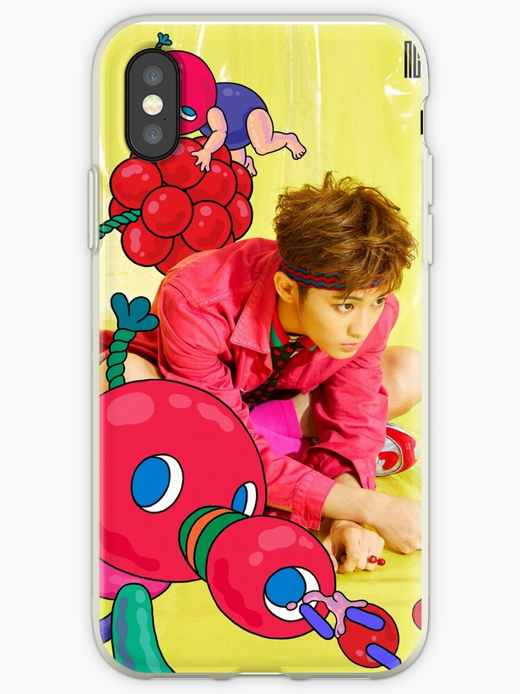 newest 35082 1dd7f 'NCT 127 Cherry Bomb - Mark' iPhone Case by chani-ah