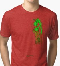 'Pia Croc' (Drag Racer Series) Tri-blend T-Shirt