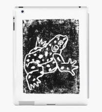 Black Amphibian iPad Case/Skin
