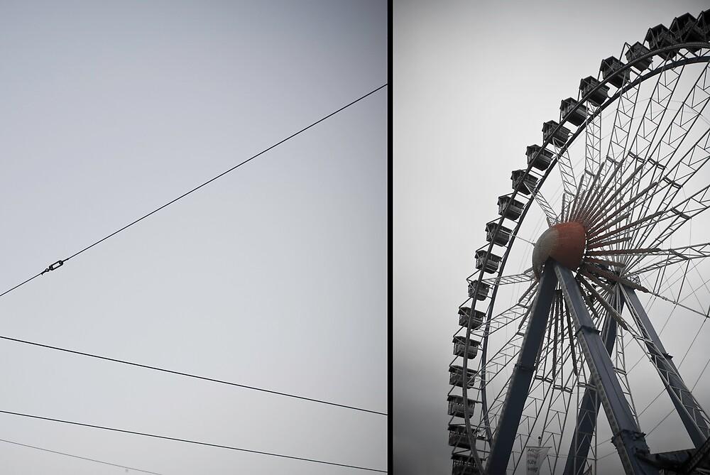 ferris wheel berlin by keatch