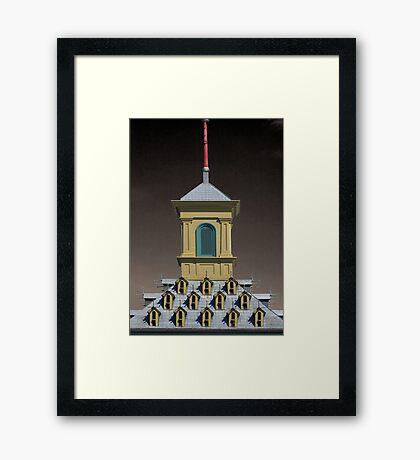 Gatehouse Roof, Dundurn Castle, Hamilton Ontario Framed Print