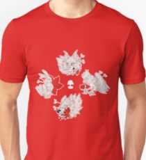 Animals and Flowers Tattoo Flash Sheet Unisex T-Shirt