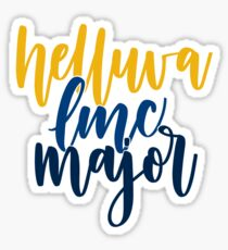 Helluva LMC Major Sticker