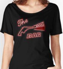 Twin Peaks The Bang Bang Bar Logo Women's Relaxed Fit T-Shirt