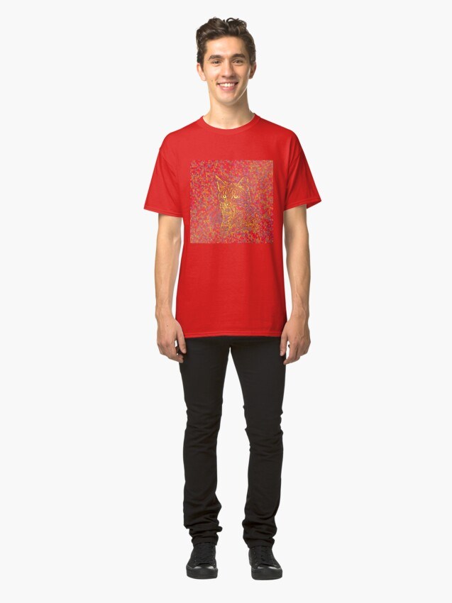 Alternate view of Goldenrod Crimson Classic T-Shirt