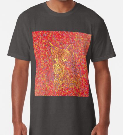 Goldenrod Crimson Long T-Shirt
