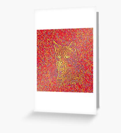Goldenrod Crimson Greeting Card