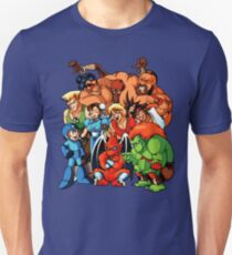 Early 1990s Capcom Character Lineup Unisex T-Shirt