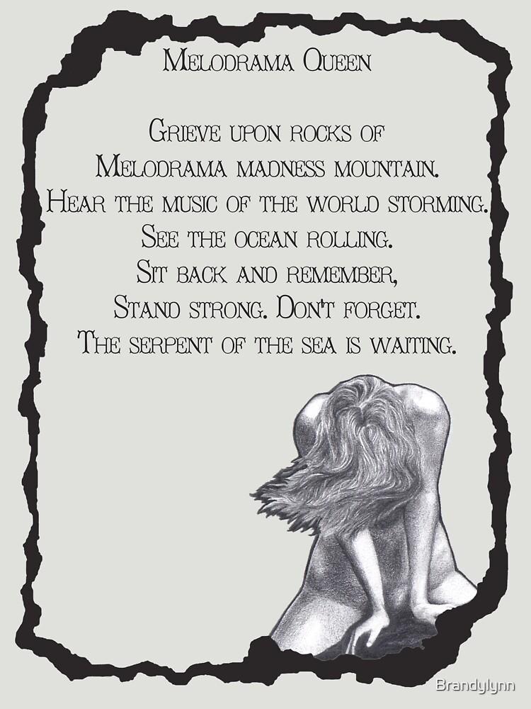 Melodrama Queen T by Brandylynn