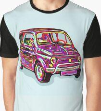 Fiat 500 italian car italy Graphic T-Shirt