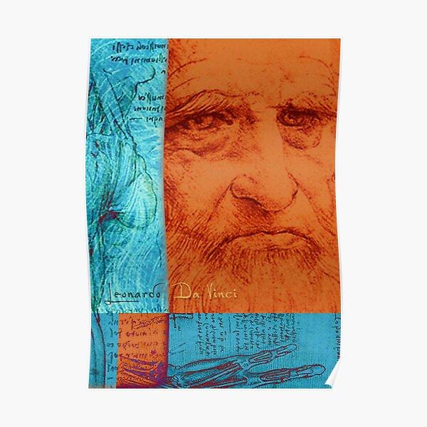 Vitruvianischer Mensch Kunstdruck Alte Meister Leonardo da Vinci