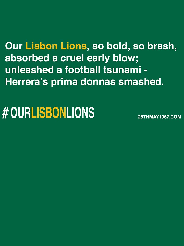 Our Lisbon Lions by 25thmay1967