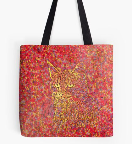 Goldenrod Crimson Tote Bag