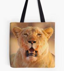 Lioness in the sun Tote Bag