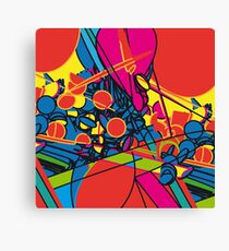 pop overload Canvas Print
