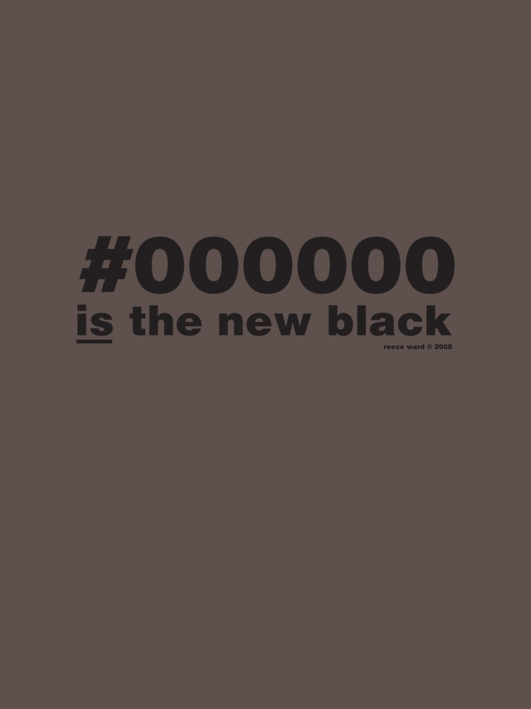 #000000 is the new black by reeceward