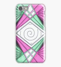 Pink and Green 3 iPhone Case/Skin